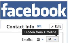 Facebook Hides Your Email Address Leaving Only @Facebook.com Visible