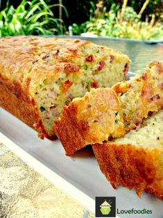 Bacon & Cheddar Zucchini Bread - Lovefoodies