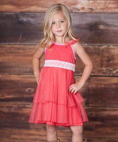 Look what I found on #zulily! Raspberry Dancer Dress - Infant, Toddler & Girls #zulilyfinds