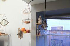 Vintage Brass Hanging Fruit Basket by WildPoppyGoods on Etsy