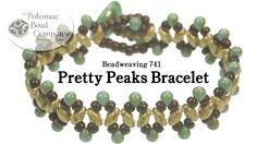 Pretty Peaks Bracelet
