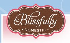 How to make a blog header from Blissfully Domestic