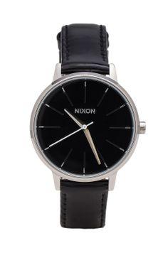 Nixon The Kensington Leather in Black Patent thing black