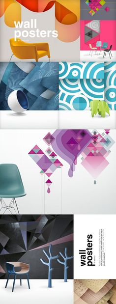 Wall posters on Behance