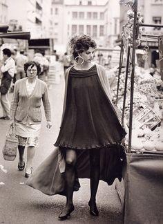 Vogue Paris September 1988  Model: Linda Evangelista