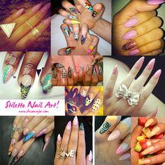 nailart nail, nail trends, nail beauti, nail stilettonail, stiletto nails