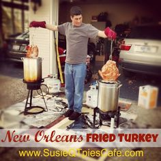 New Orleans Fried Turkey Recipe for Thanksgiving