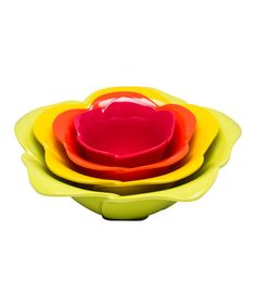 fresh rose, zak design, bowl set, color, rose serv, roses, serv bowl, kitchen, bowls