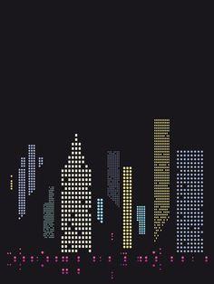 city lights by bo lundberg on stampa