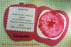 Apple star....love this!