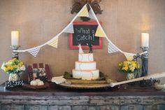 Baseball grooms cake