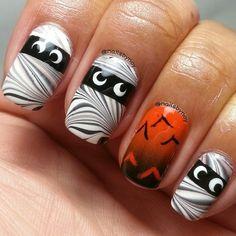 halloween by nailsbynoy  #nail #nails #nailart