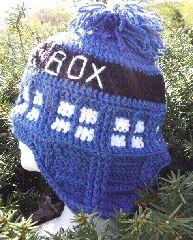 Free Crochet Pattern Tardis Hat : Fun Hats to Crochet on Pinterest Crochet Hats, Hat ...