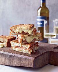 Mortadella and Cheese Panini Recipe on Food