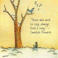 sing....