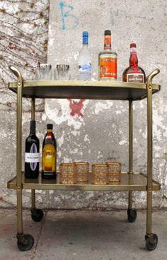 great bar cart
