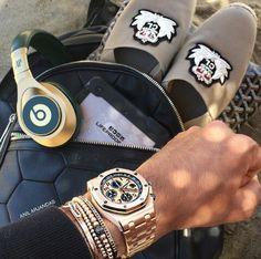 Today's Essentials. www.kristoffjewelers.com #watches #beats