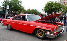 1962 Chrysler Newport hardtop - red - fvr