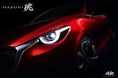 Mazda Hazumi Concept Teased, Previews Next-Gen Mazda2