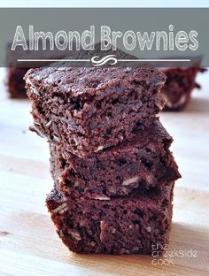 Chewy, nutty and wonderful: Almond Brownies - The Creekside Cook