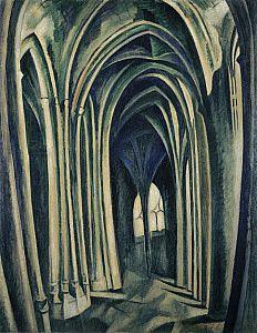 Robert Delaunay | Saint-Séverin No. 3