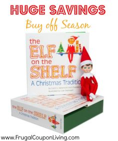Elf on the Shelf Deal $9.99 from $30 – Buy Off Season #elfontheshelf #sale #discount