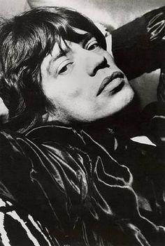Mick Jagger, New York(1978) by Helmut Newton
