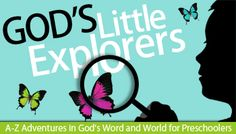 God's Little Explorers ~ free Christian preschool curriculum.  I'd love to use this to help supplement what we're currently doing...