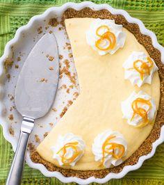 cream pies, pie crusts, food, serious eat, gluten free, pie recipes, condensed milk, dessert, creamsicl pie