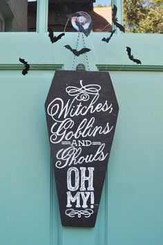 coffin door decor...