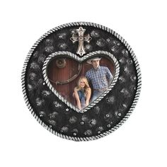 BB Ranch® Heart and Cross Photo Frame  #homedecor #pictureframe