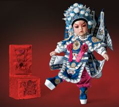 RETIRED RARE Yang Zongbao Beijing Opera 2009 Limited Edition Adora Doll 003N22753 « Game Searches
