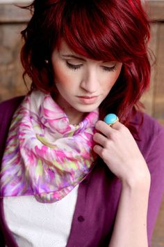 Gorgeous red hair!