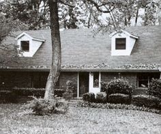 Before: Stuck in 1950s                                    Tiny windows, a small and uninteresting entry, and no front porch left the homeowners of this 1950s ranch feeling trapped in the past.