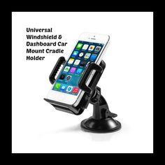 Universal Windshield & Dashboard Car Mount Cradle Holder #DashKIts #DashTrimKit #CustomInteriors #Rvinyl