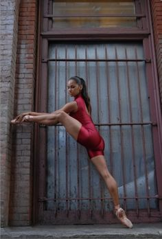 Misty Copeland, First African American female soloist for the American Ballet Theatre in NYC.
