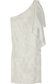 halston metallic dress..cute have one just like this..