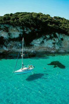 sailing around Greek Islands
