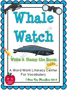 This educational, whale focused activity pack will help your students practice reading, writing, & learn species vocabulary; a perfect complement to your science & seasonal activities!