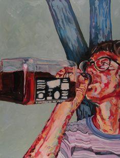 Carlisle Bell. Tia. Oil on canvas.