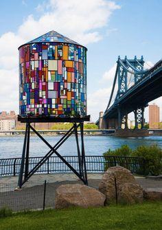 Water Tower | by Tom Fruin via Fubiz™