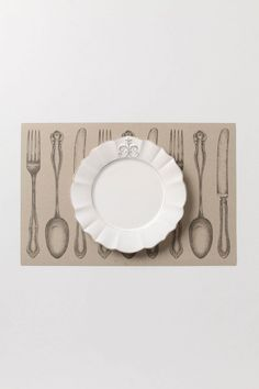 anthro. Dinner Setting Paper Placemats