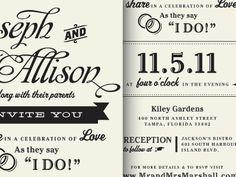 """I do!"" #weddingmonth #typography"