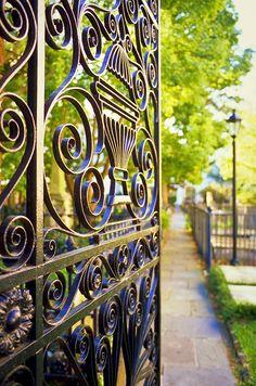 Ornate Gate, St. Michael's Church, Charleston, SC