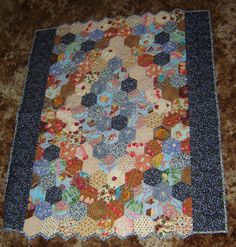 Comfort Fruit quilt made by @tansyrr for Kaia