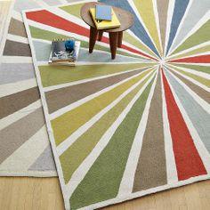 Lourdes Sánchez Bull's-Eye Rug | west elm idea for outside rug