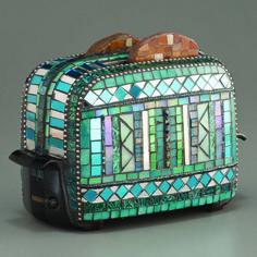 Mosaic Toaster, Nancy keating...wish this were real!!!