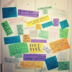 Motivation wall!!!