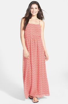 Dex Woven Maxi Dress available at #Nordstrom