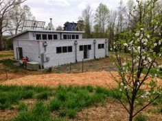 Spring Stuck, What Luck! Life at the off grid prefab house, and through Virginia.